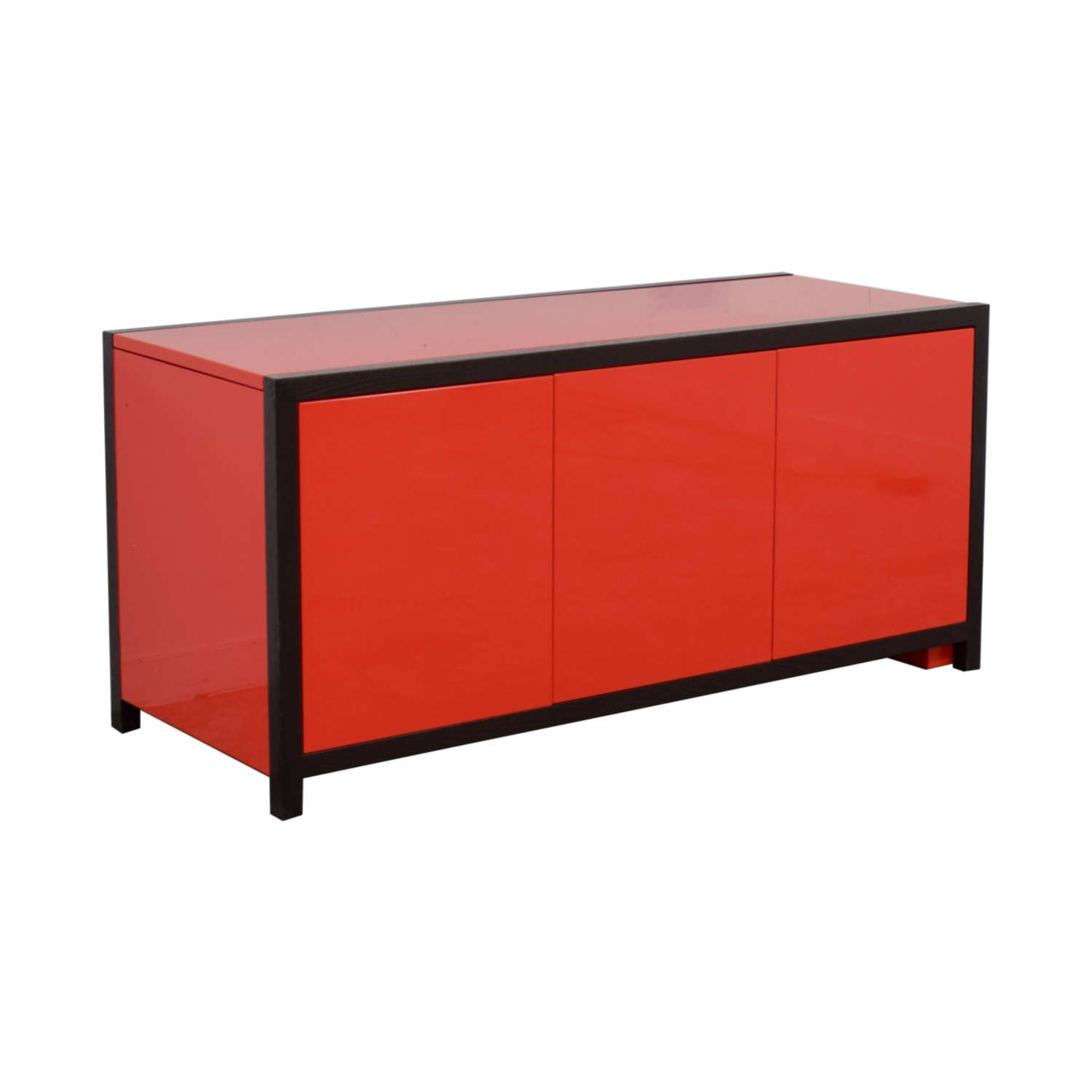 Dune Dune Modern Le Mans Black and Red Cabinet to Desk coupon