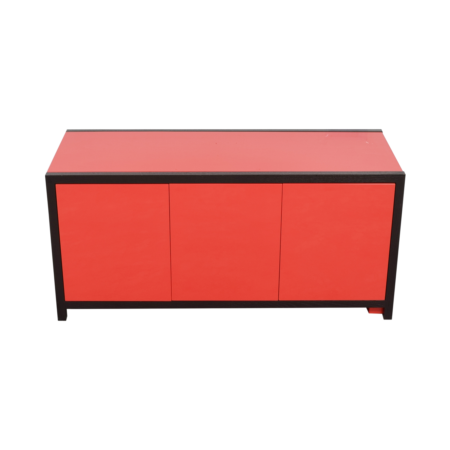buy Dune Modern Le Mans Black and Red Cabinet to Desk Dune