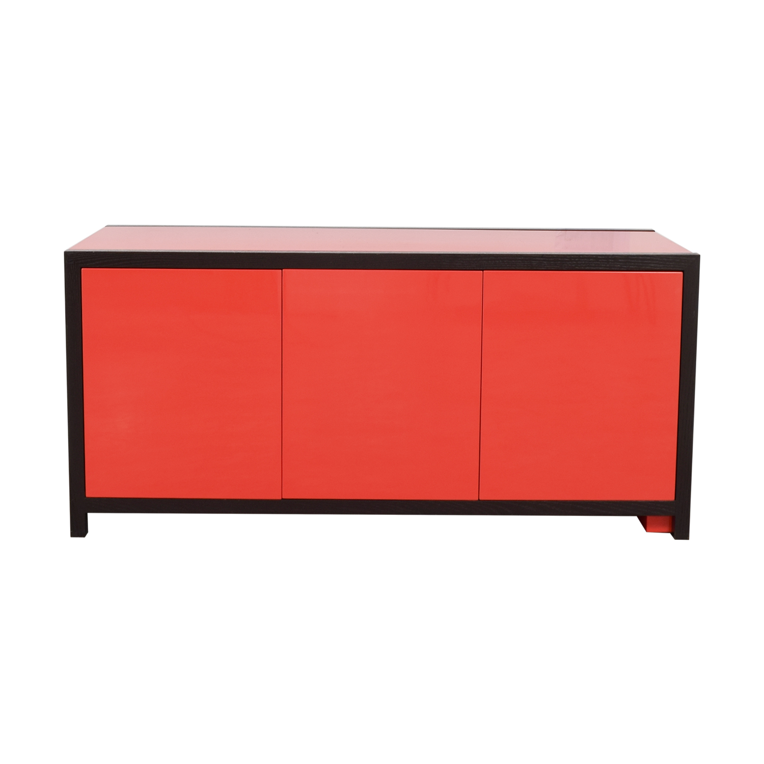 Dune Dune Modern Le Mans Black and Red Cabinet to Desk nyc