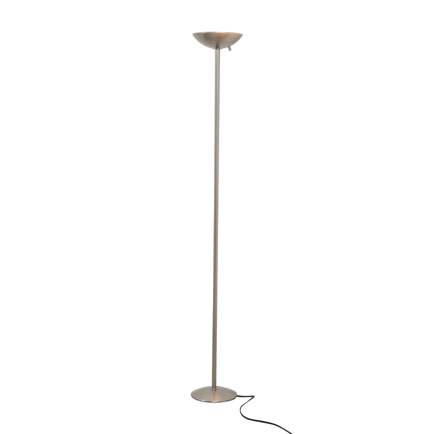 shop Ligne Roset Brushed Silver Floor Lamp Ligne Roset