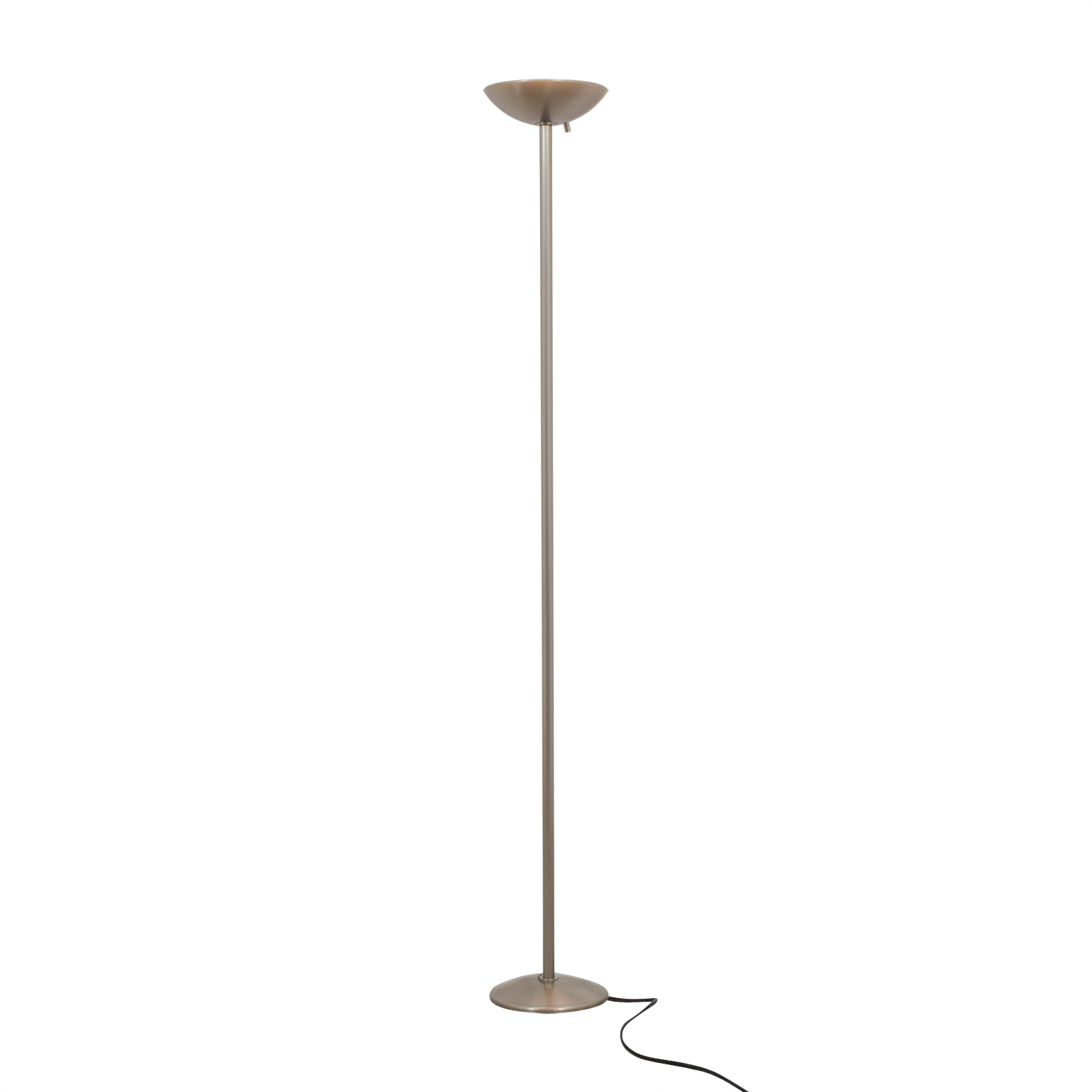 shop Ligne Roset Ligne Roset Brushed Silver Floor Lamp online