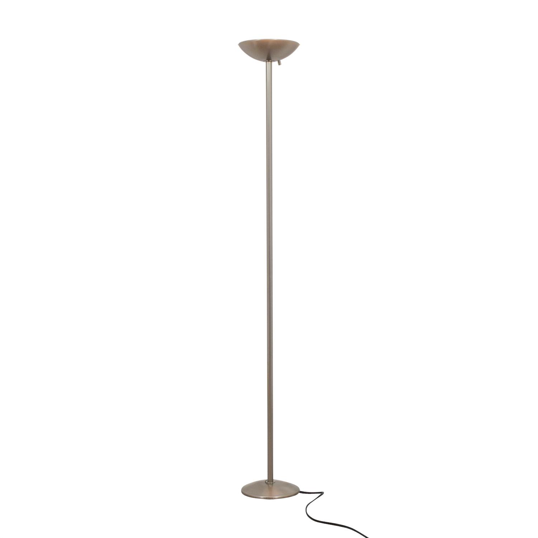 Ligne Roset Ligne Roset Brushed Silver Floor Lamp for sale