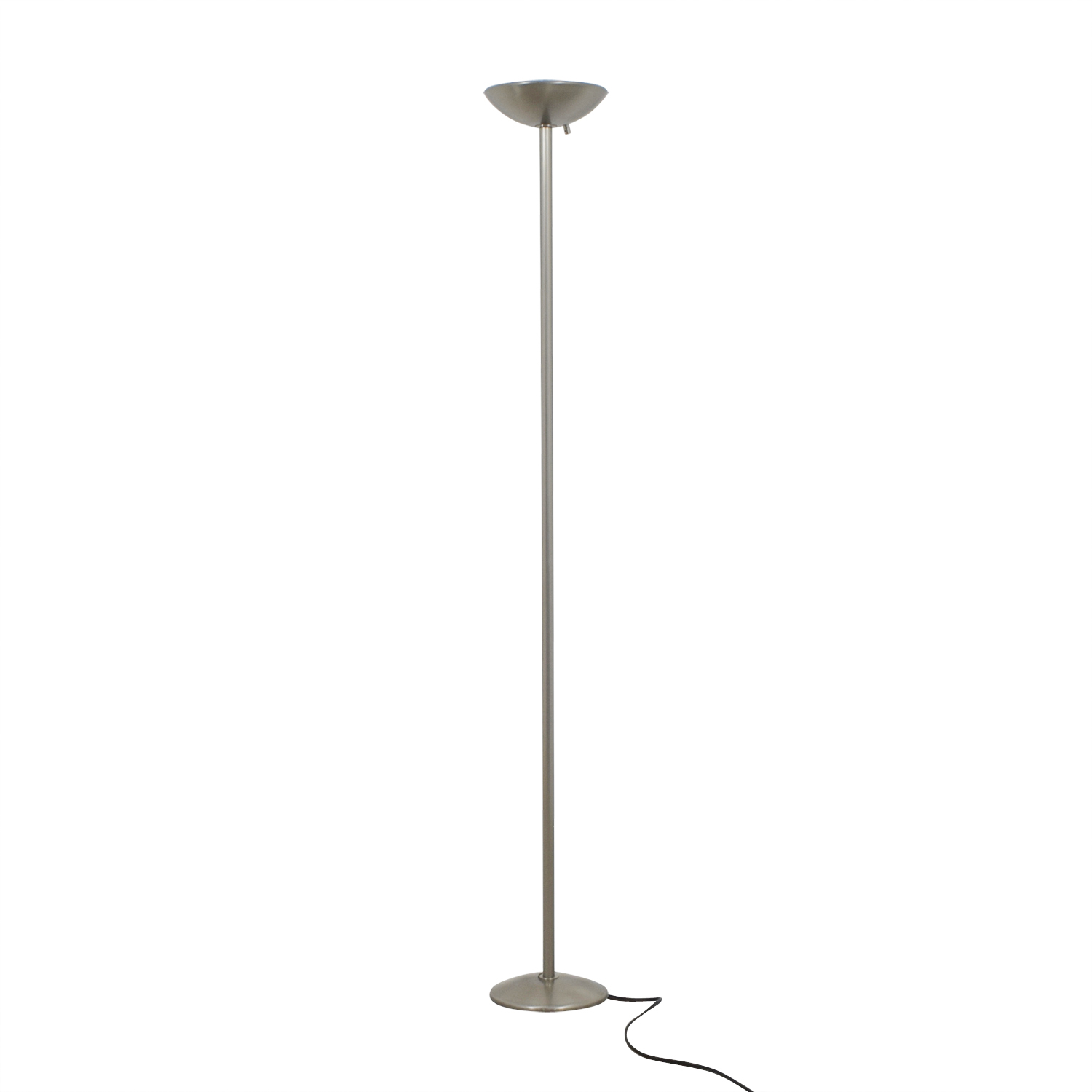 Ligne Roset Ligne Roset Brushed Silver Floor Lamp second hand