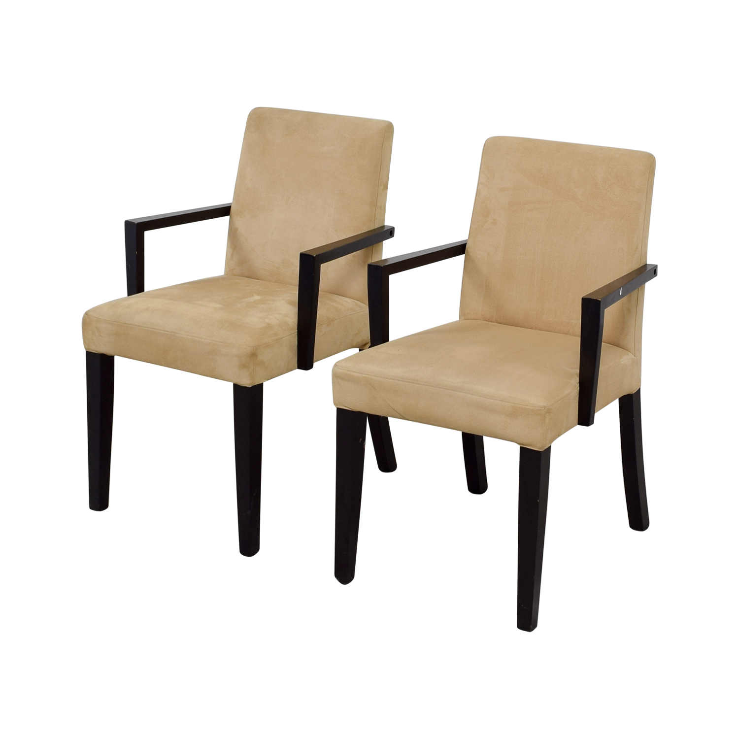 BoConcept Genova Tan Suede Chairs sale