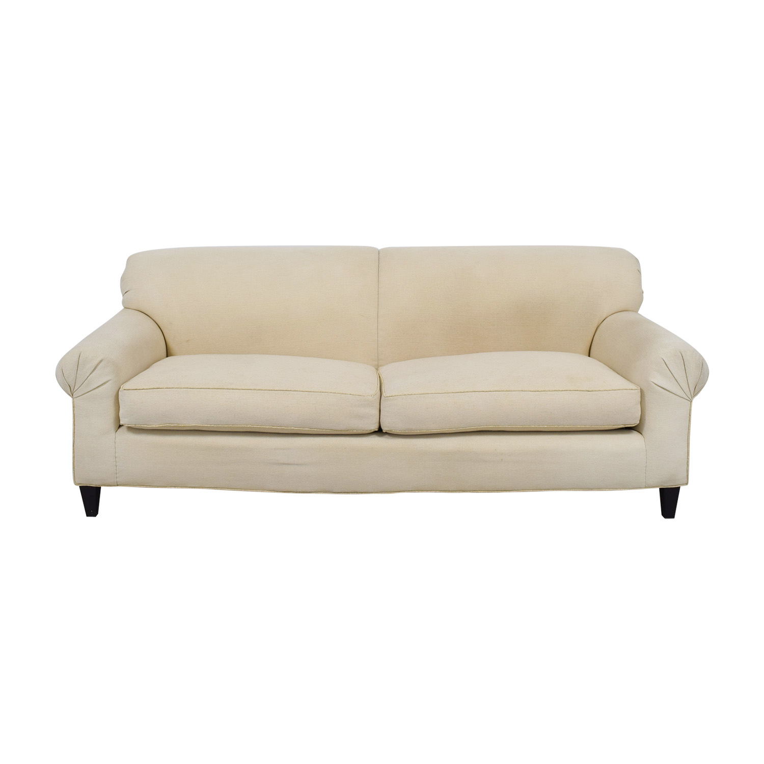 buy  White Two-Cushion Sofa online