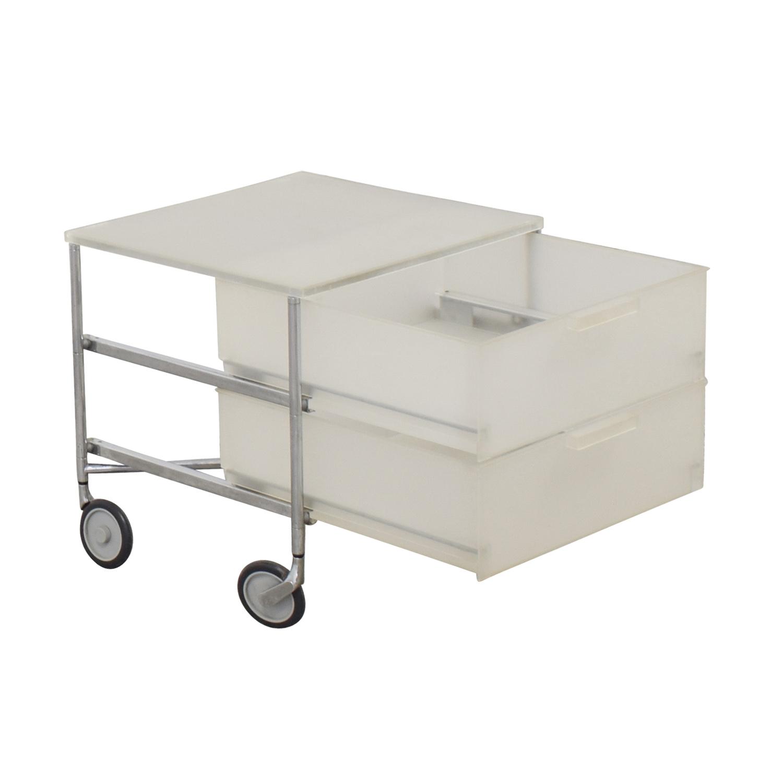 Kartell Kartell Mobil Storage Cart White