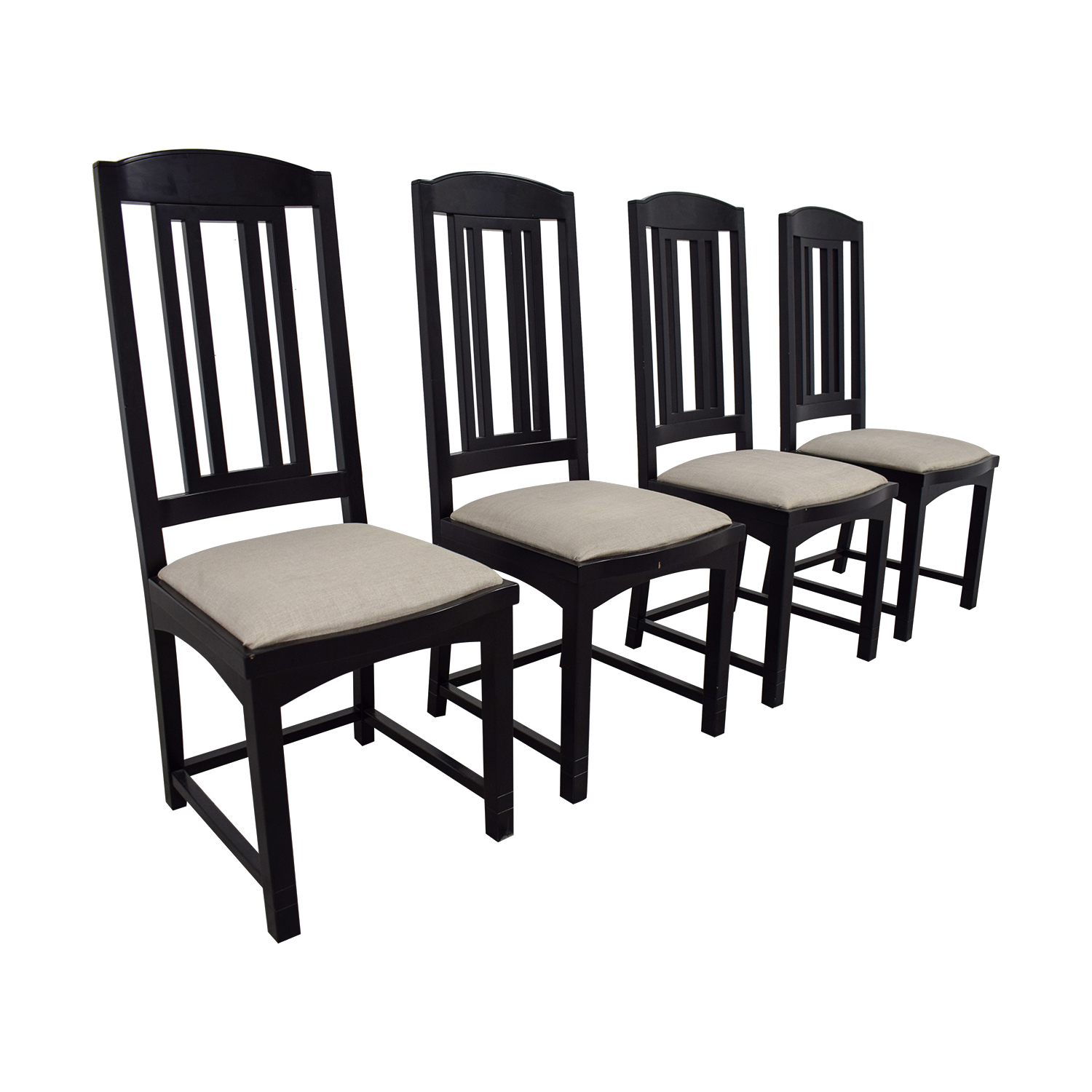 buy PACE Collection Black Dining Chairs PACE Collection Dining Chairs
