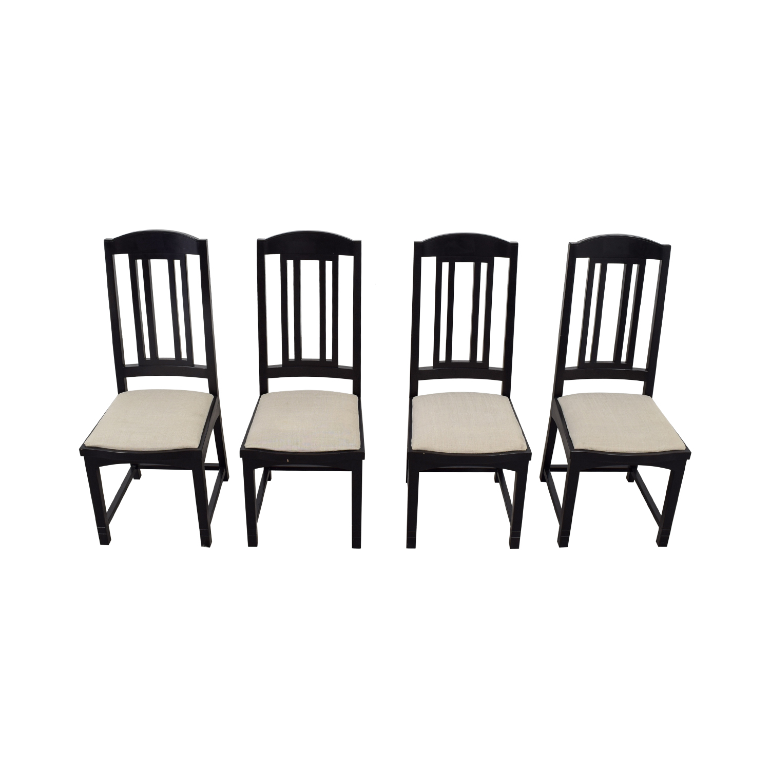 shop PACE Collection Black Dining Chairs PACE Collection