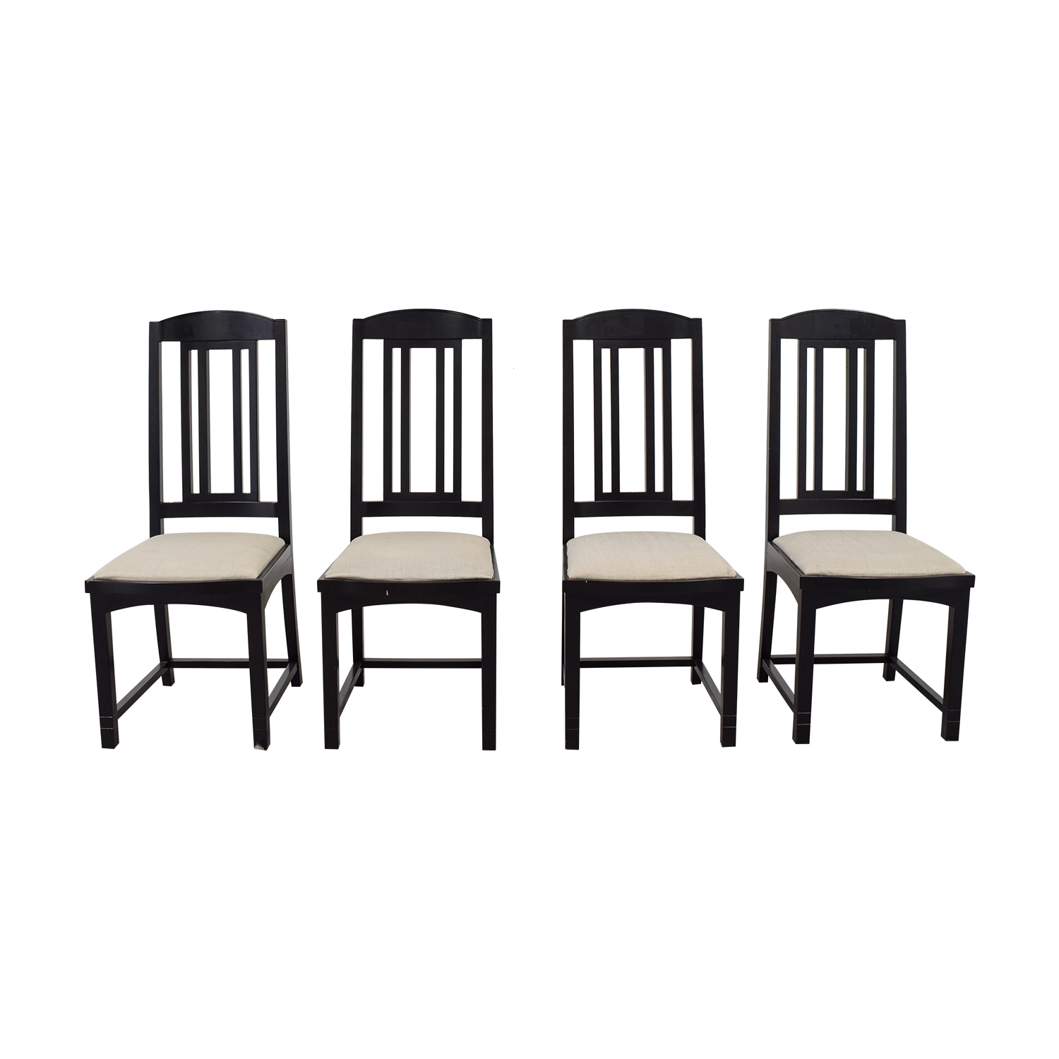 PACE Collection Black Dining Chairs / Dining Chairs