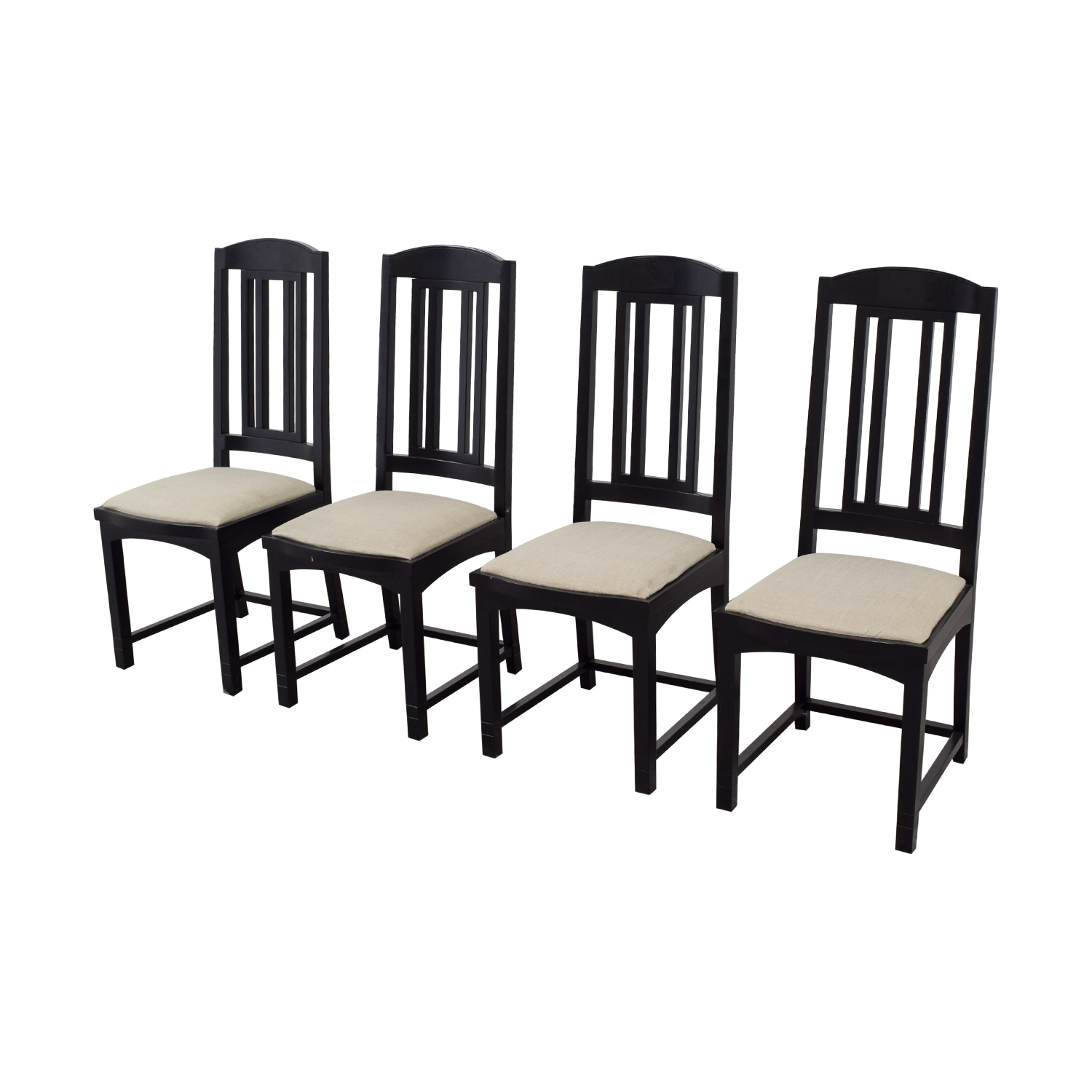 PACE Collection PACE Collection Black Dining Chairs nyc