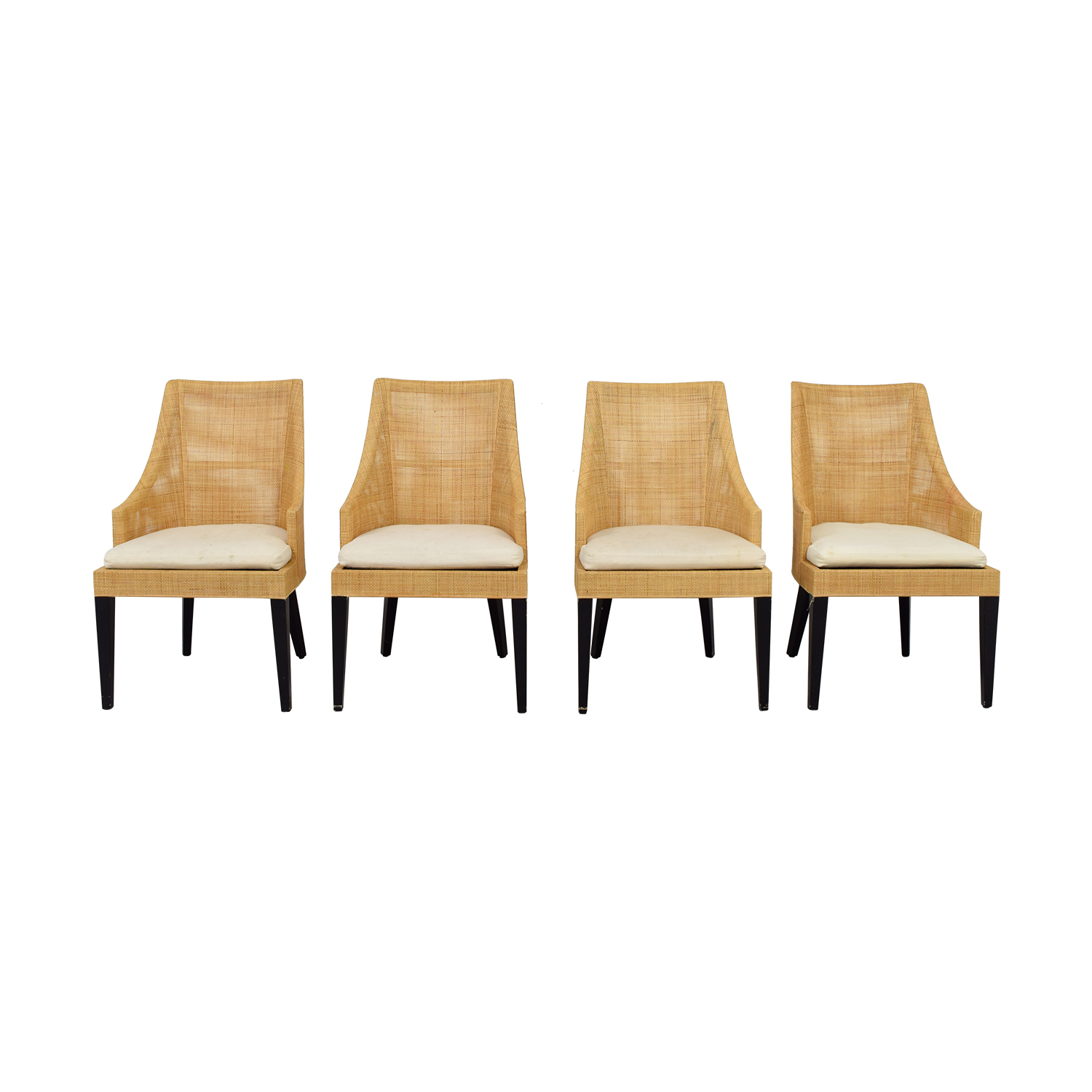 West Elm West Elm Beige and Tan Dining Chairs price