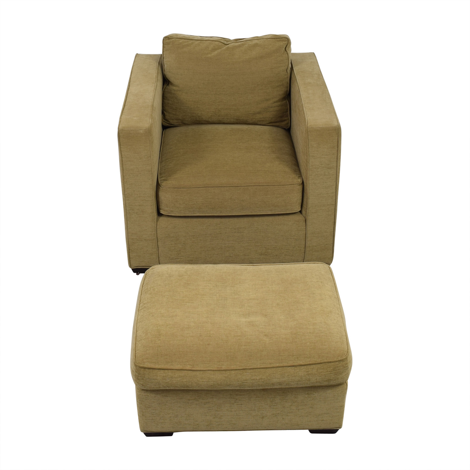 Room & Board Room & Board Fabric Chair and Ottoman Chairs