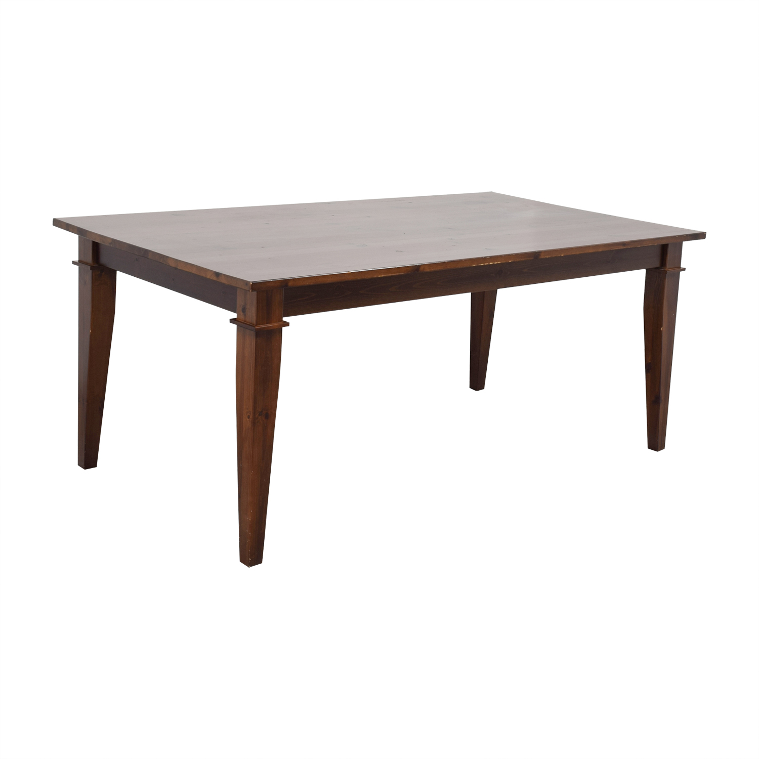 Pottery Barn Pottery Barn Dining Table with Glass Top for sale