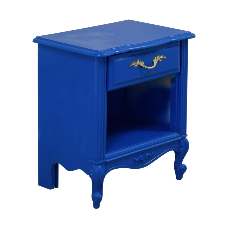 Blue Bedside End Table price
