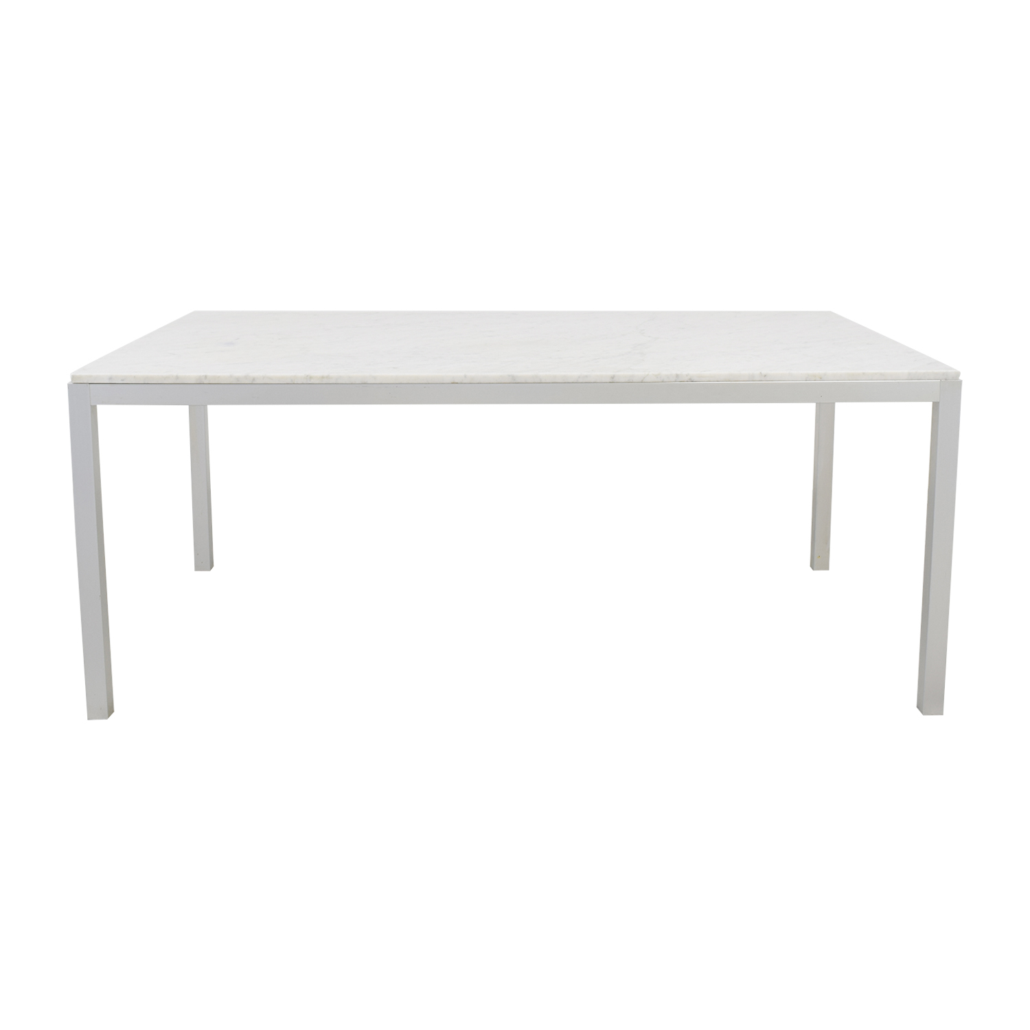 MDF Italia MDF Italia White Marble Dining Table or Desk Tables