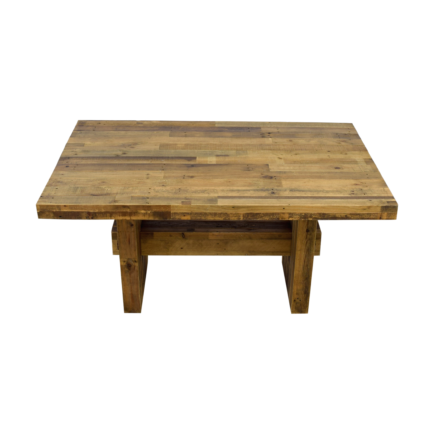 West Elm West Elm Emmerson Reclaimed Wood Dining Table second hand