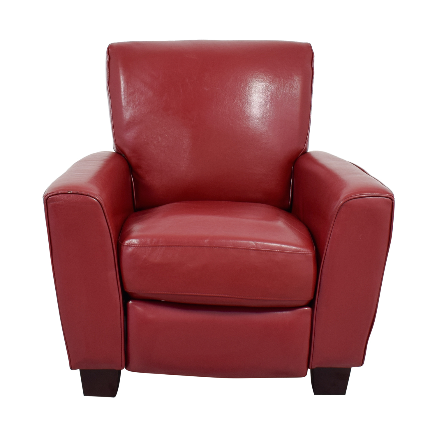 Bob's Furniture Bob's Furniture Gelati Recliner in Dark Red Recliners