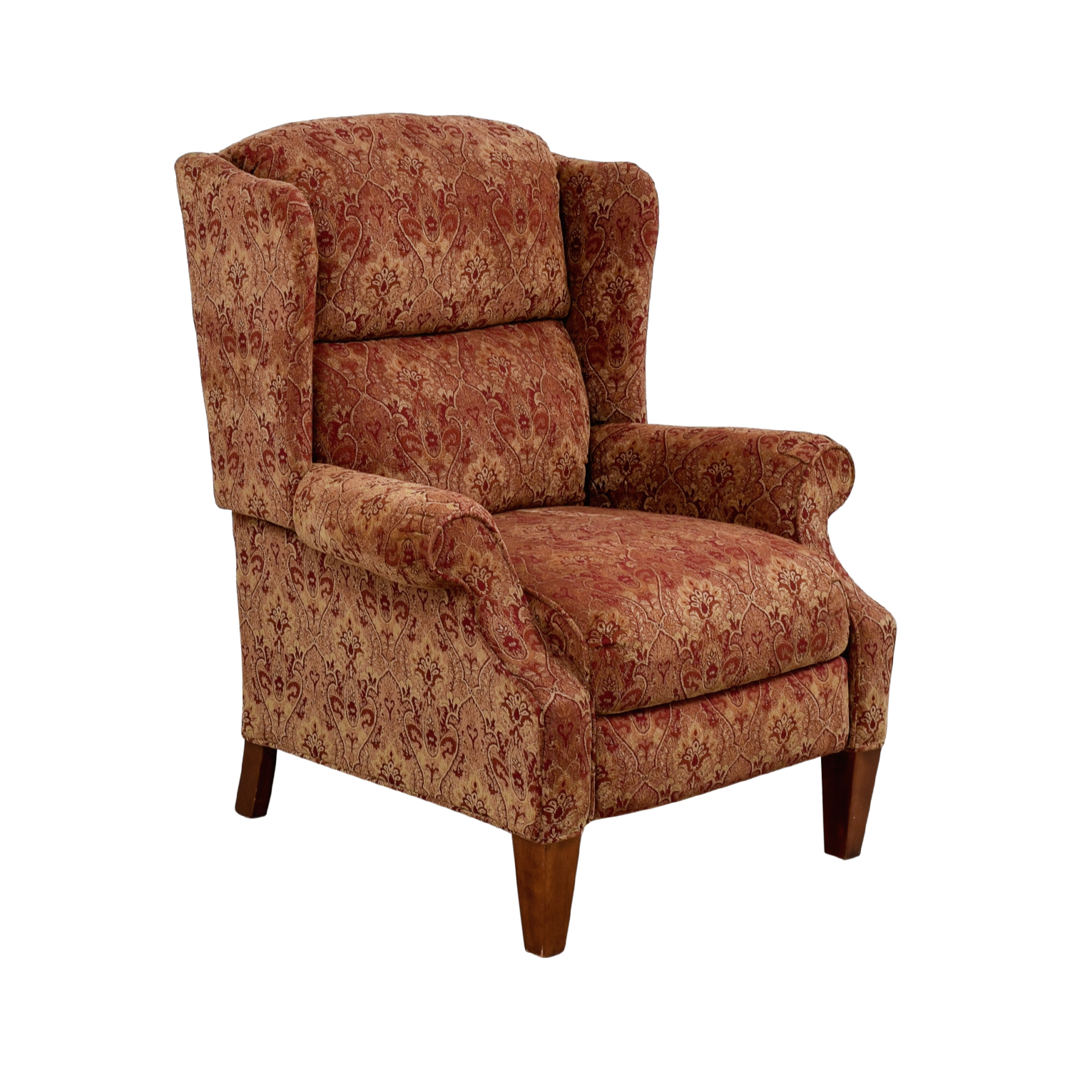 Lane Furniture Lane Furniture Red And Beige Two Level Reclining