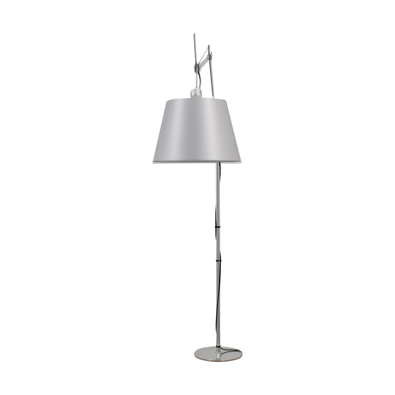 Artemide Artemide Industrial Tolomeo Mega Floor Lamp dimensions