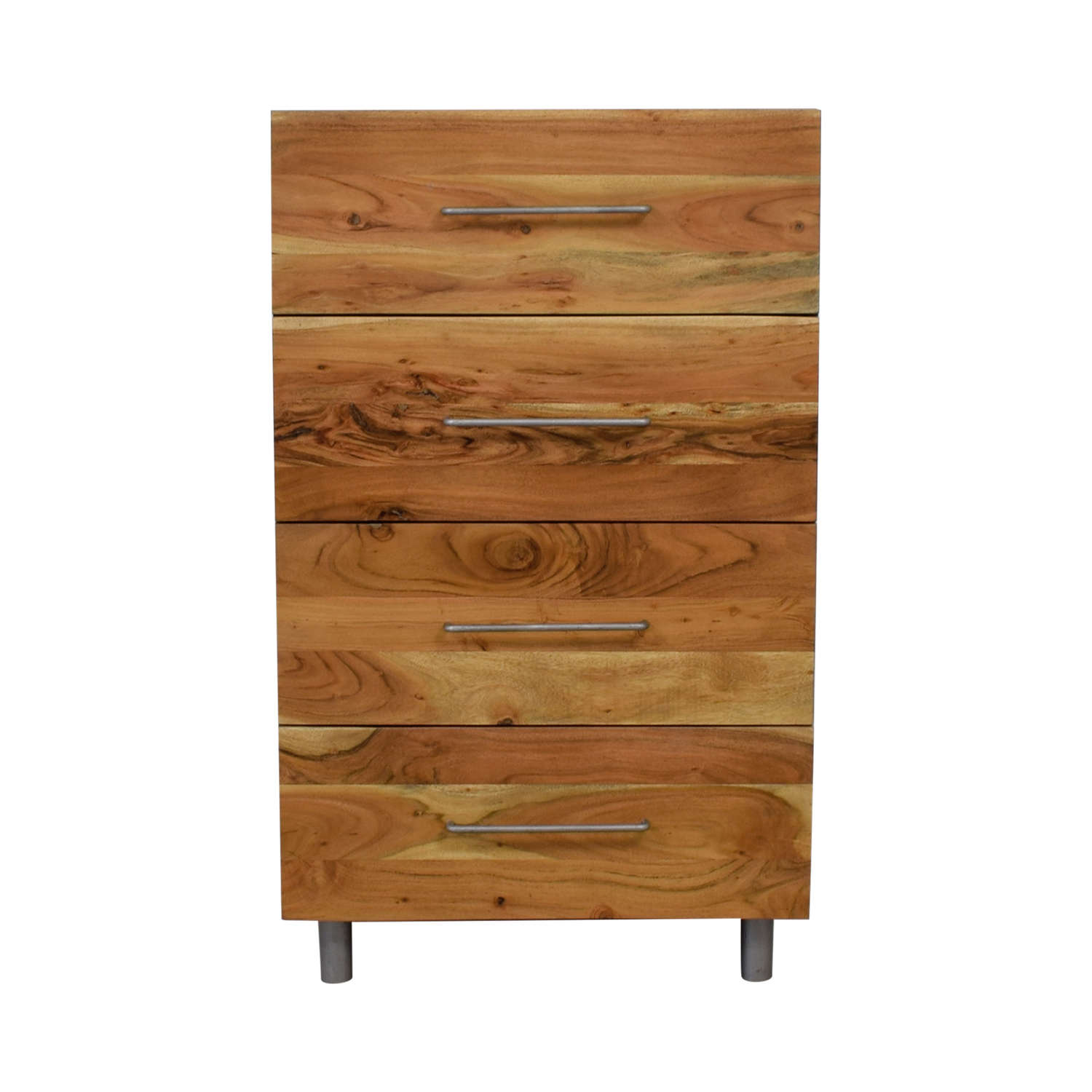 buy CB2 Junction Rustic Four-Drawer Tall Chest CB2 Storage