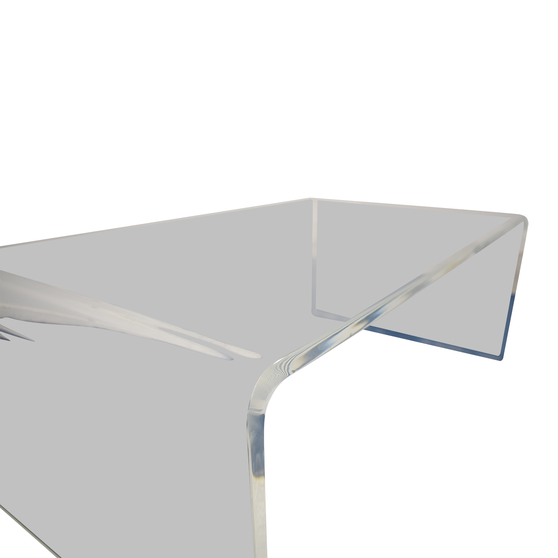 CB2 CB2 Acrylic Coffee Table