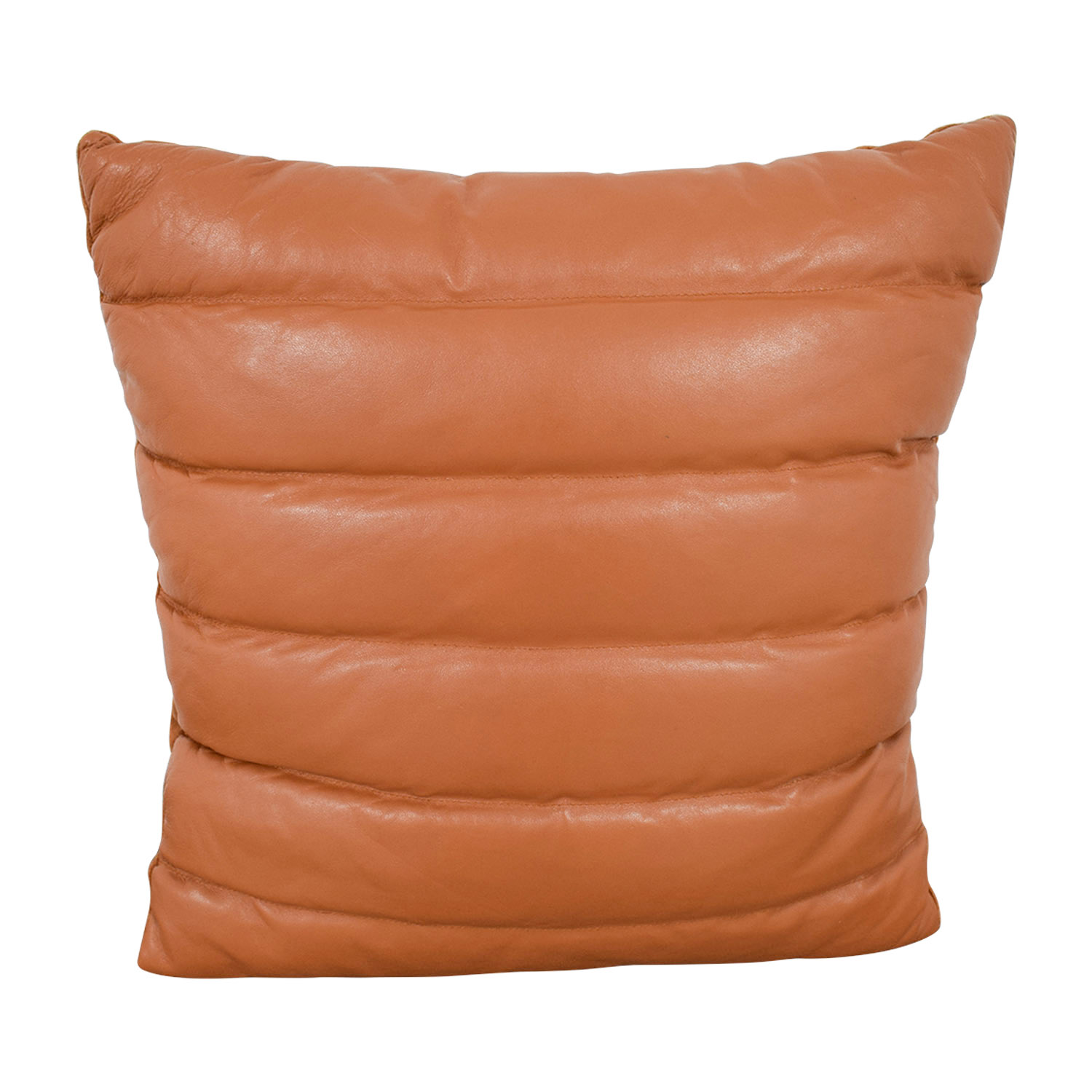 CB2 CB2 Izzy Saddle Leather Pillow discount