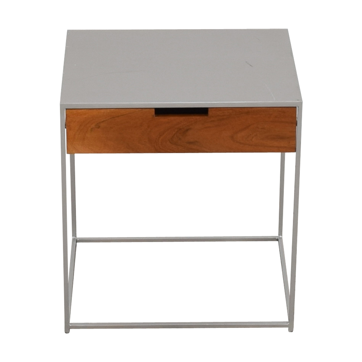 shop CB2 CB2 Audrey Metal and Wood Night Stand online