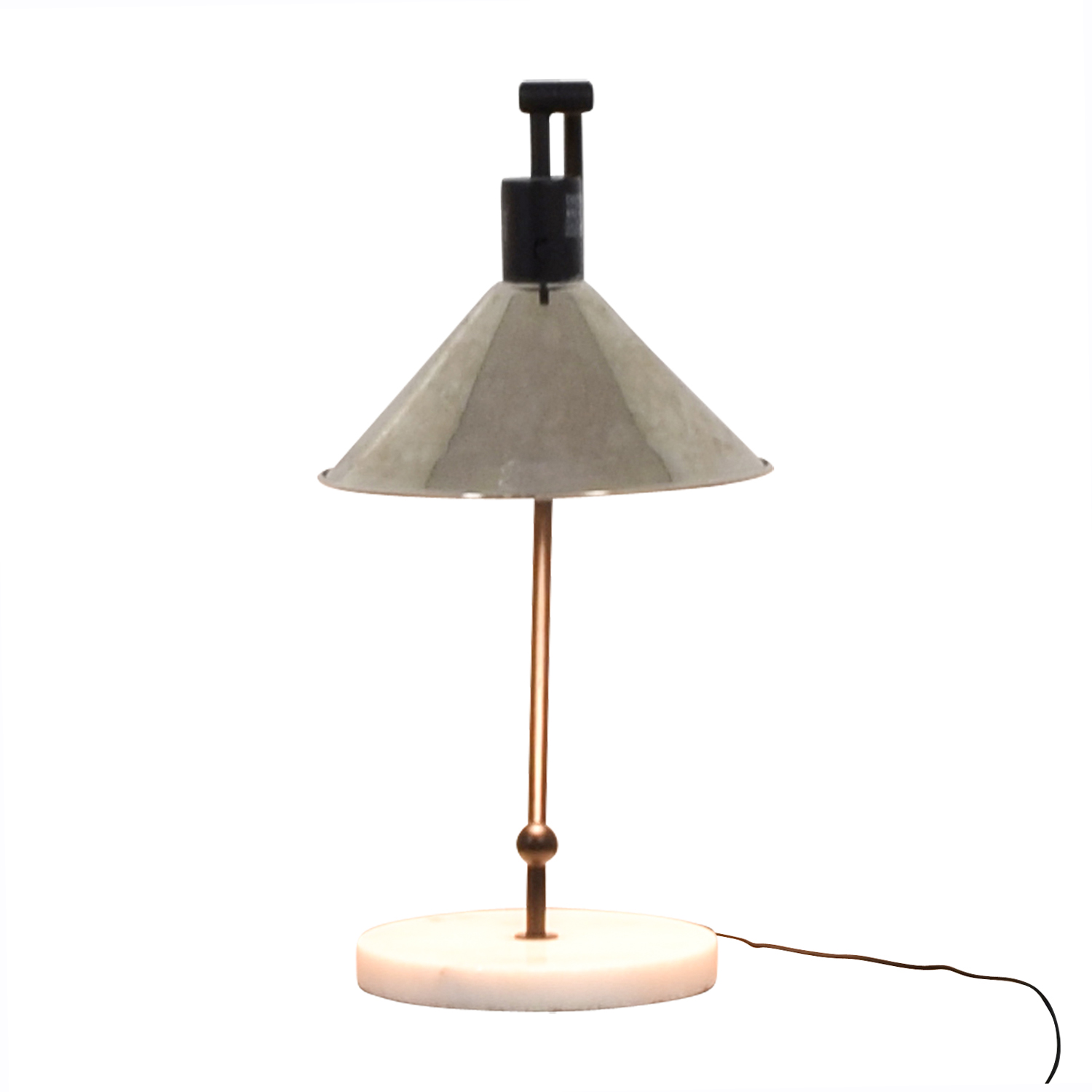 CB2 CB2 Gris Table Lamp used