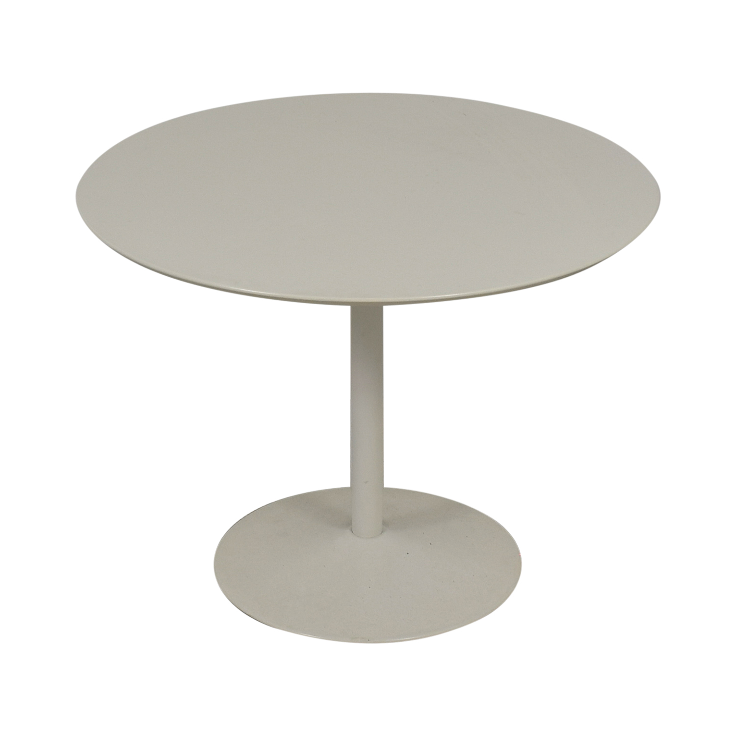 OFF CB CB White Dining Server Tables - Cb2 tulip table