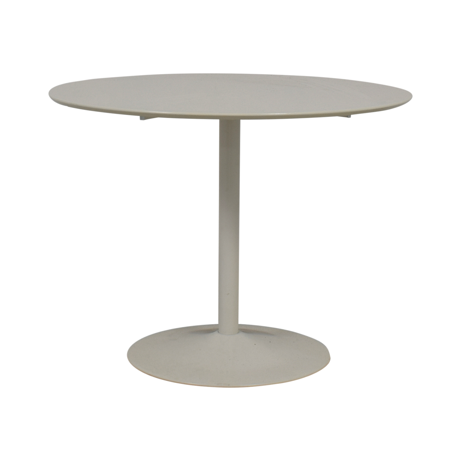 buy CB2 Odyssey White Tulip Dining Table CB2 Accent Tables