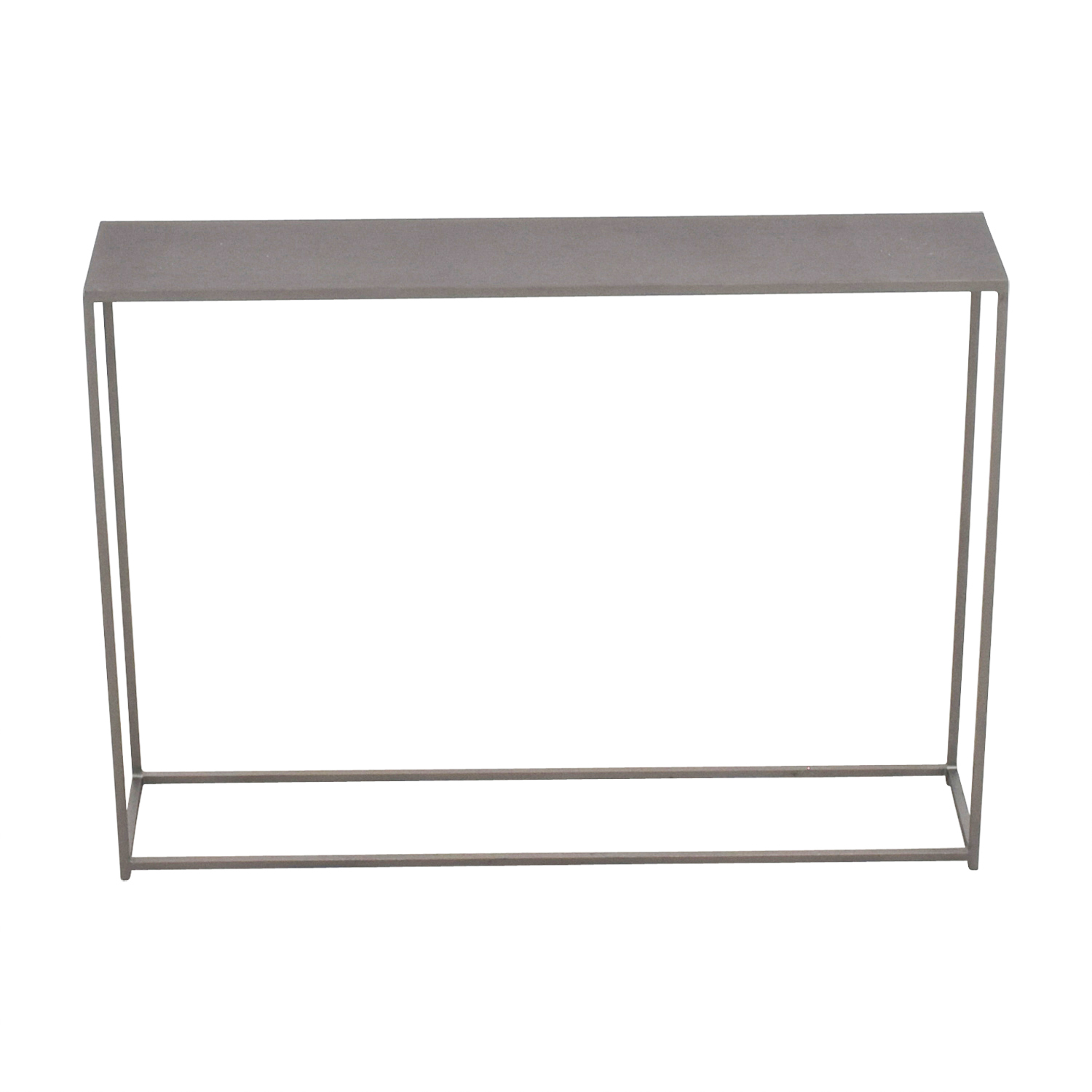 CB2 CB2 Mill Mini Console Grey