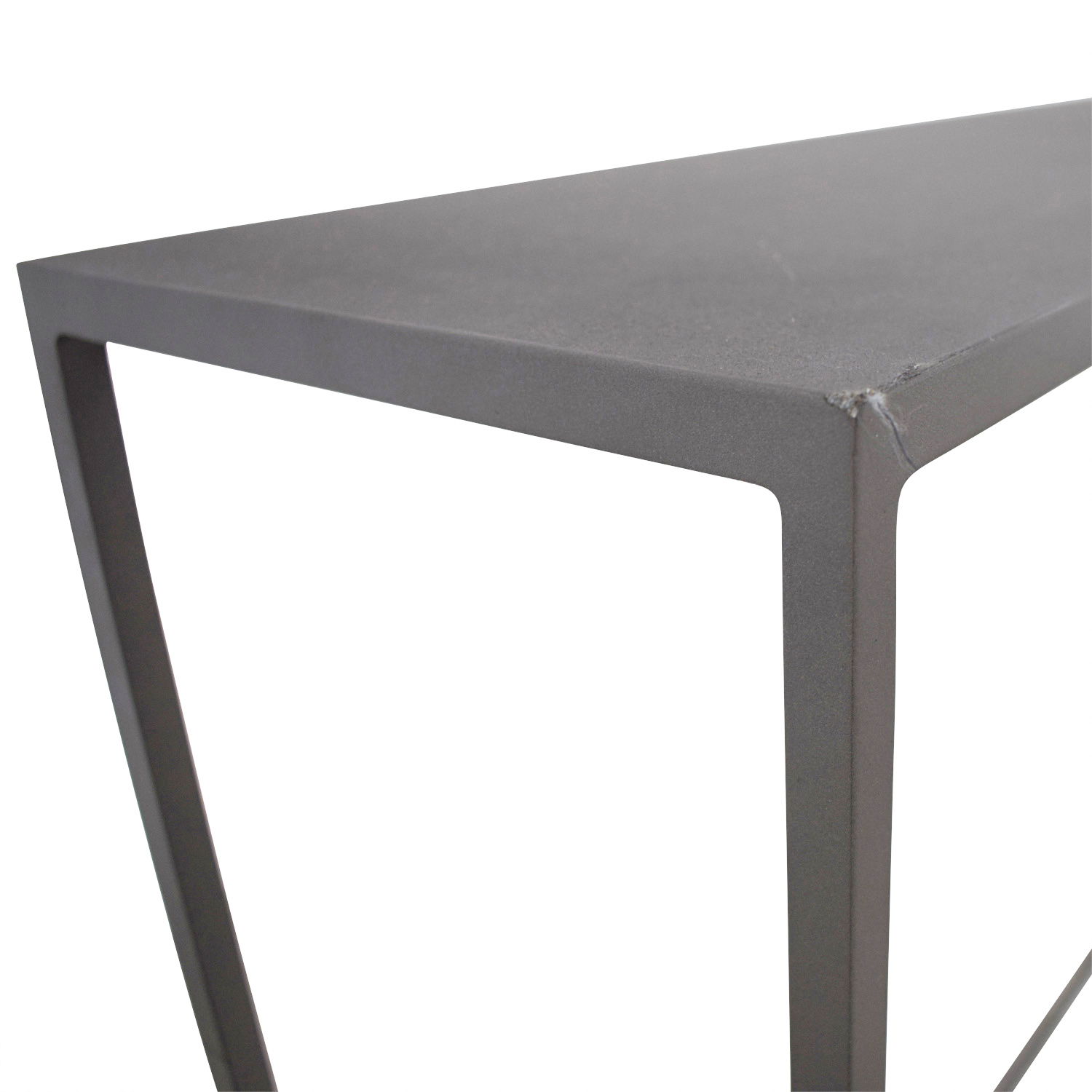buy CB2 Mill Mini Console CB2 Tables
