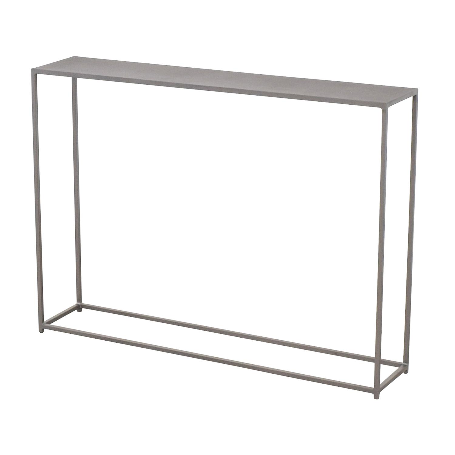 shop CB2 Mill Mini Console CB2 Tables
