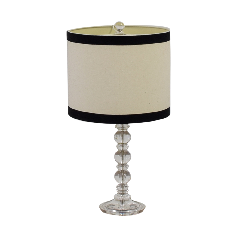 Round White Lamp discount