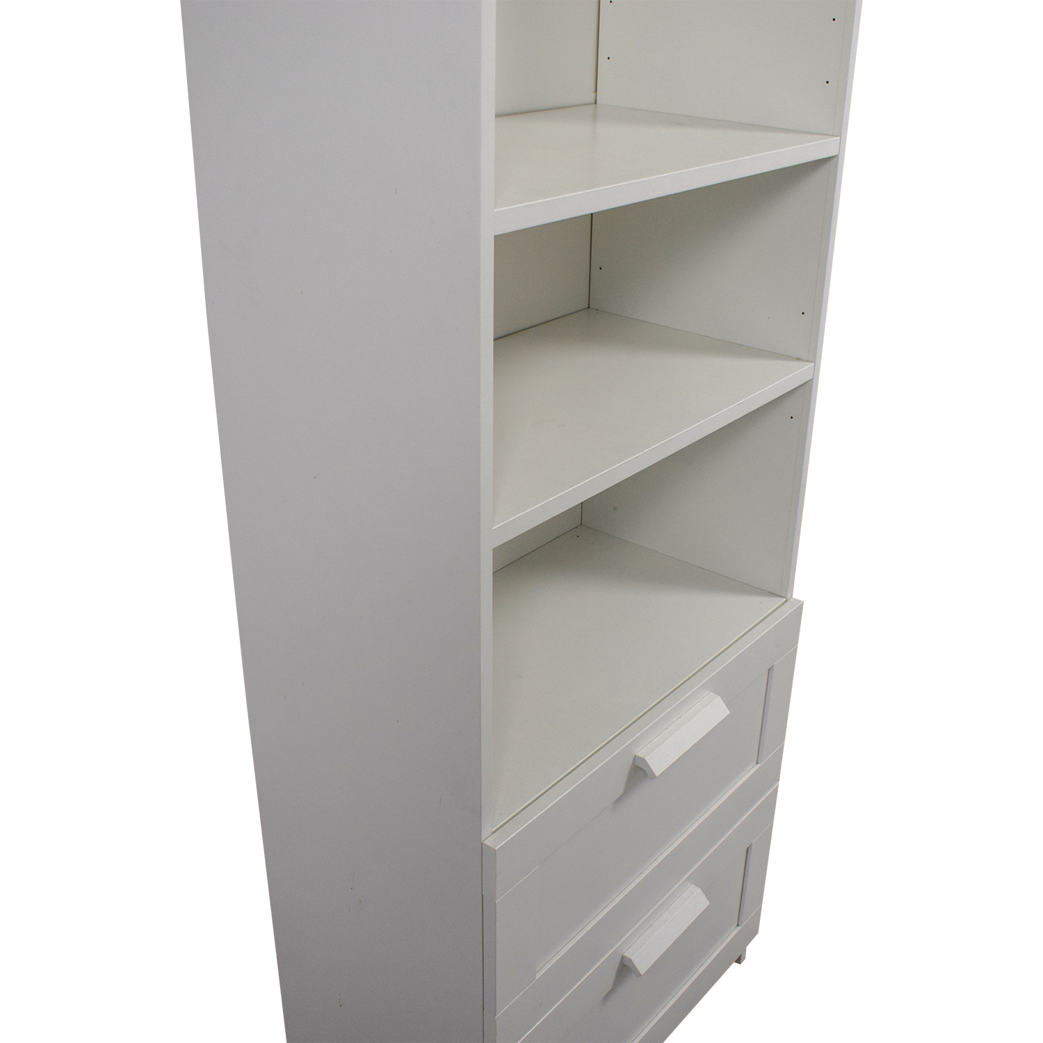 Ikea Ikea Brimnes White Bookcase With Two Drawers White