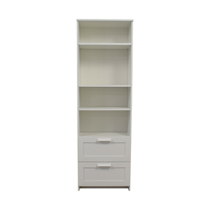 IKEA IKEA Brimnes White Bookcase with Two-Drawers second hand