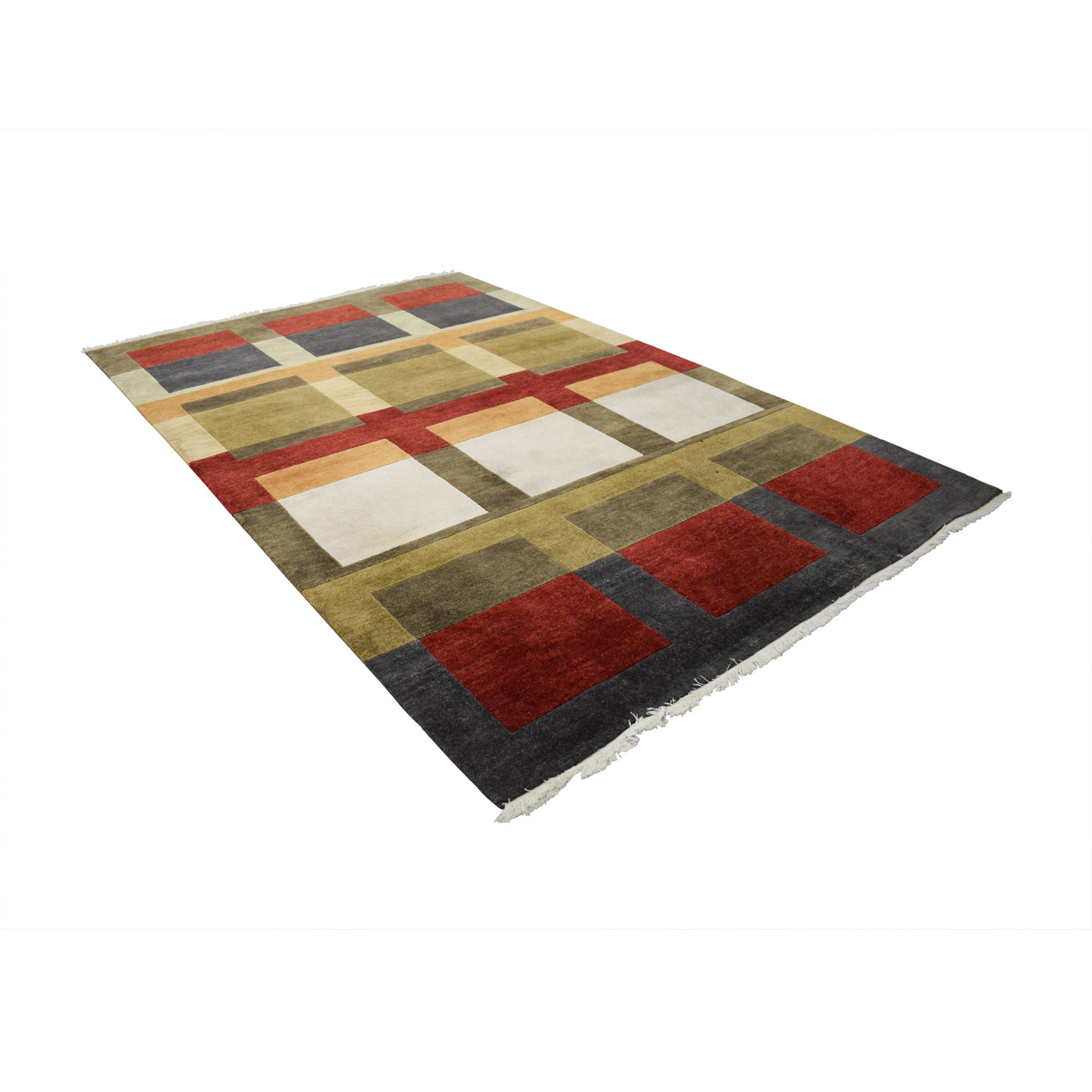 Ethan Allan Ethan Allan Multi-Colored Rug Rugs
