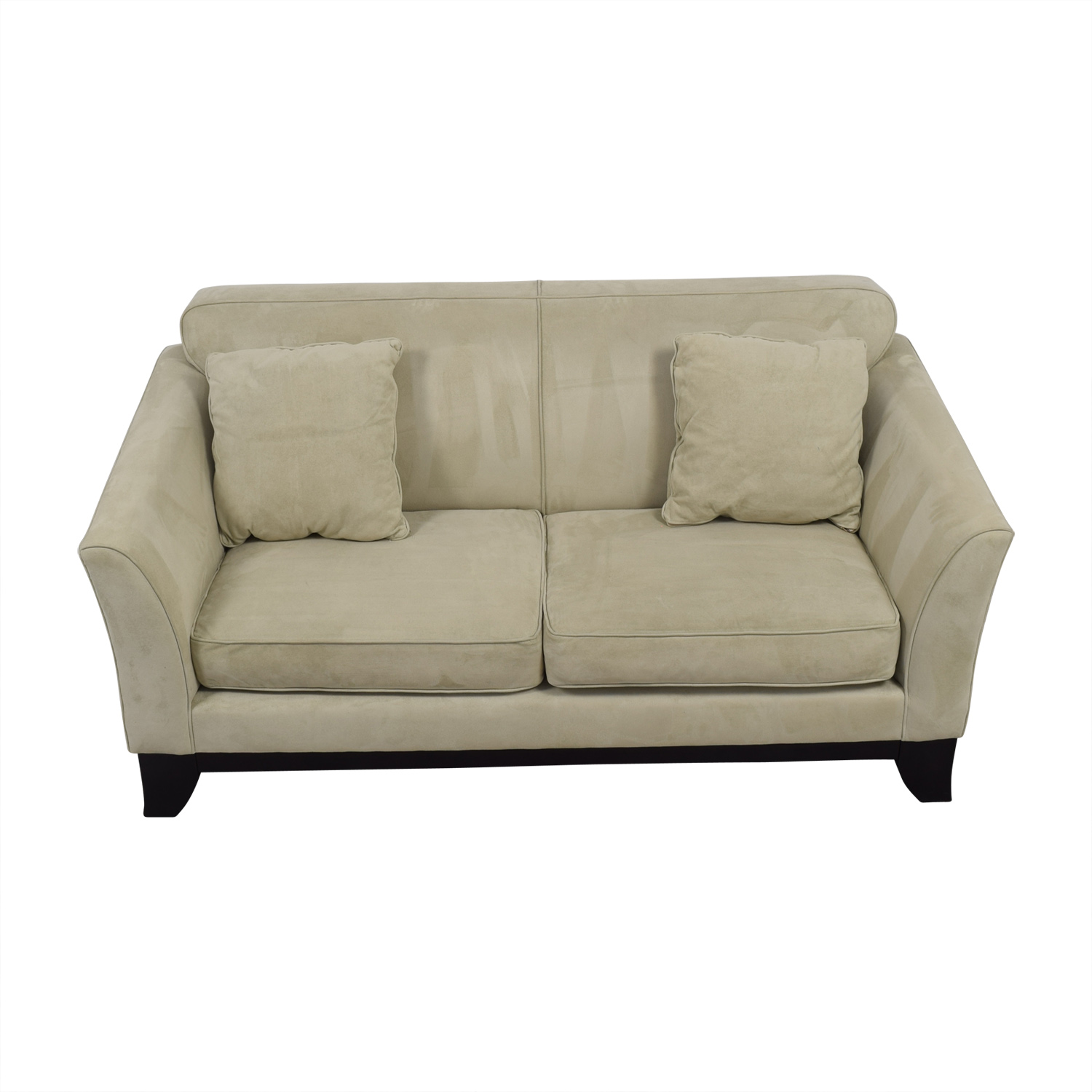 Shop Pottery Barn Greenwich Beige Loveseat Pottery Barn Sofas