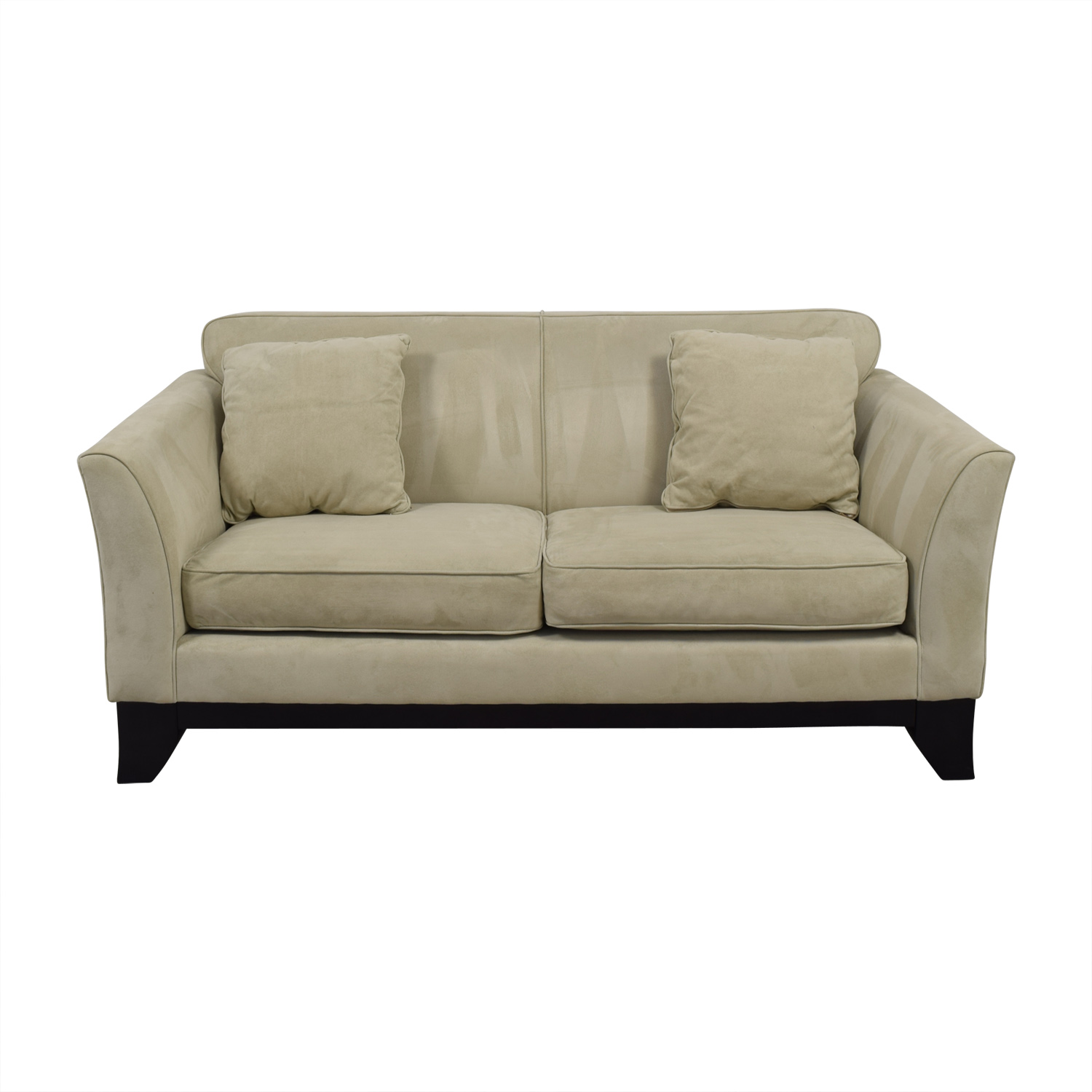 Swell 84 Off Pottery Barn Pottery Barn Greenwich Beige Loveseat Sofas Ocoug Best Dining Table And Chair Ideas Images Ocougorg