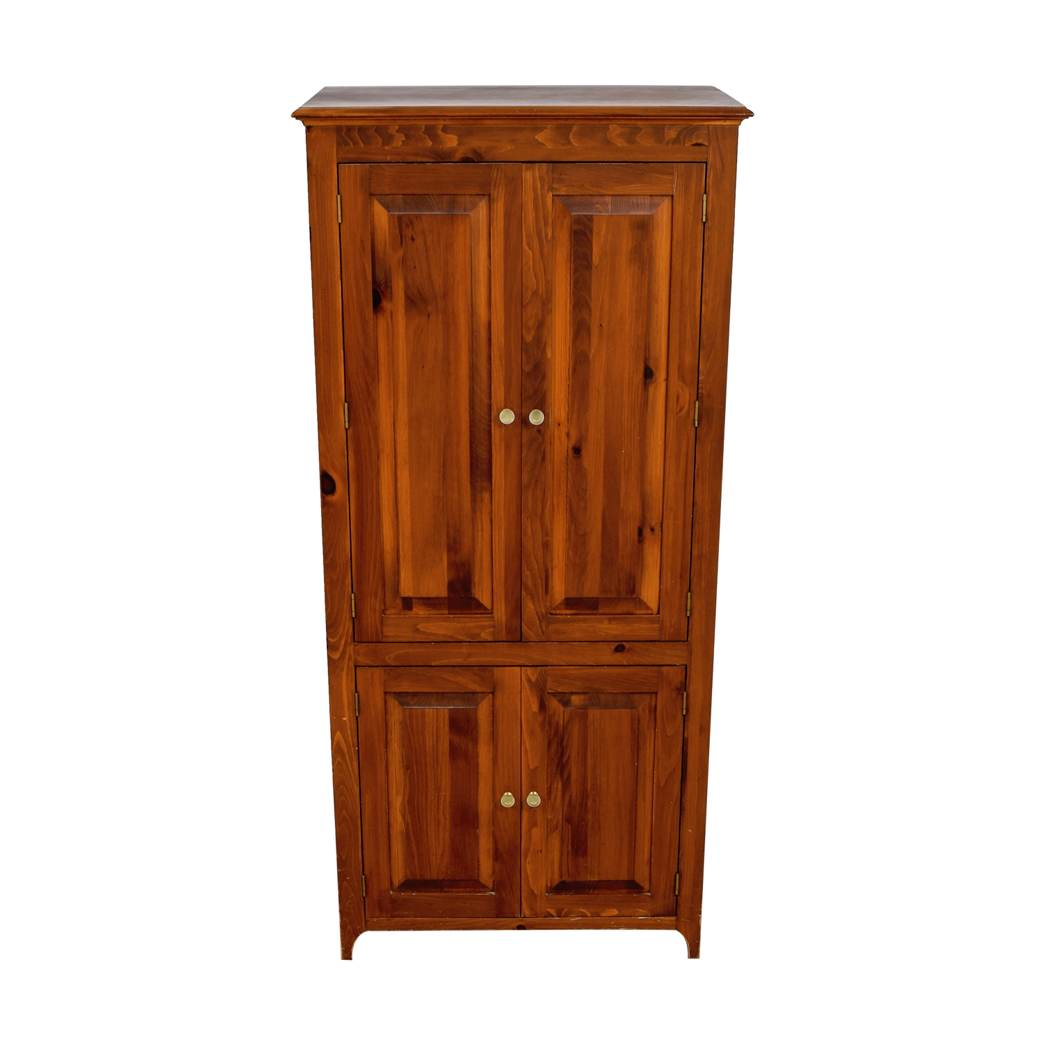 shop Laytners Three-Drawer with Shelving Wood Armoire Laytners Wardrobes & Armoires