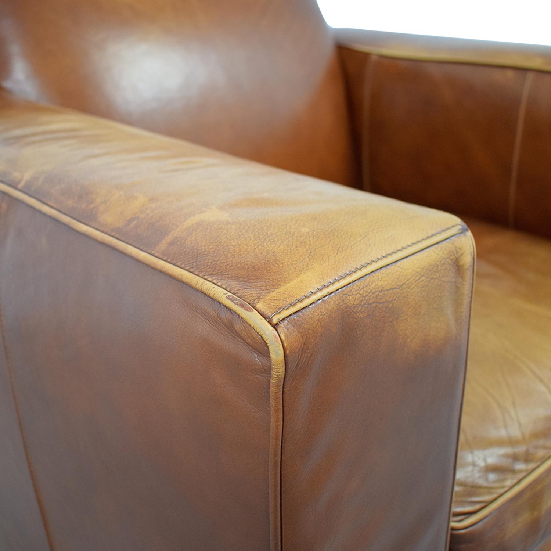 Room & Board Room & Board Ian Saddle Leather Armchair used