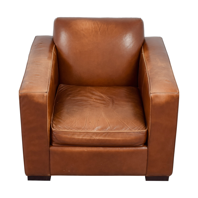 shop Room & Board Ian Saddle Leather Armchair Room & Board