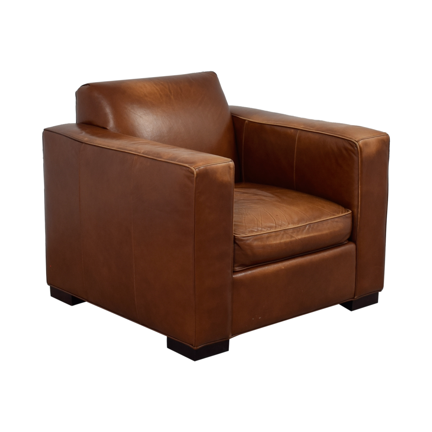 shop Room & Board Room & Board Ian Saddle Leather Armchair online