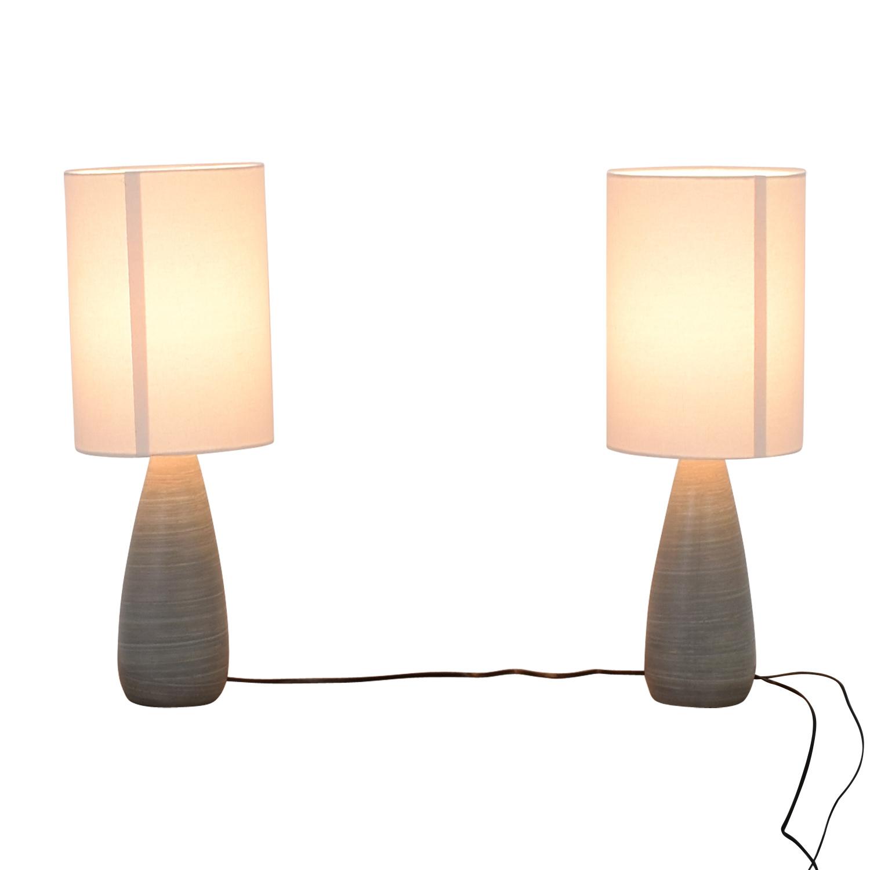 Wayfair Table Lamps >> 70 Off Wayfair Wayfair Randal Silver Table Lamps Decor