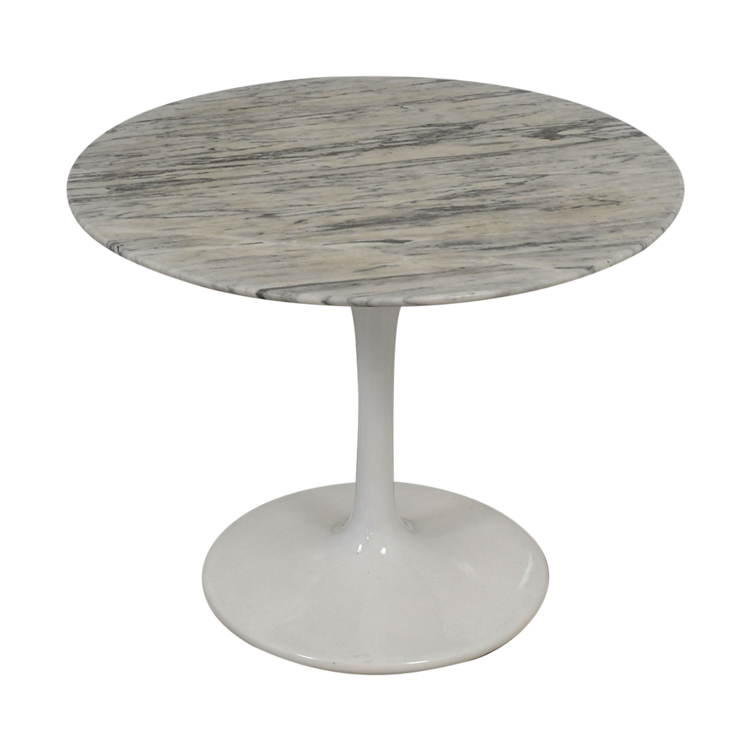 buy Saarinen Style White Marble Tulip Dining Table  Dining Sets