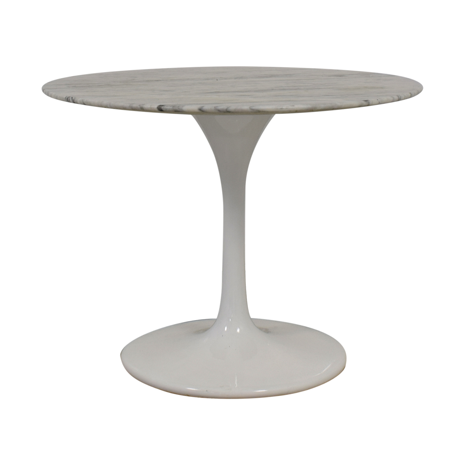 OFF Saarinen Style White Marble Tulip Dining Table Tables - Saarinen outdoor dining table