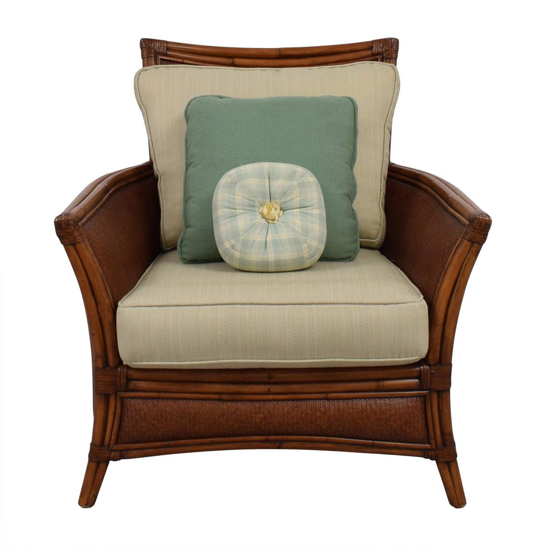 Ethan Allen Ratten Armchair sale
