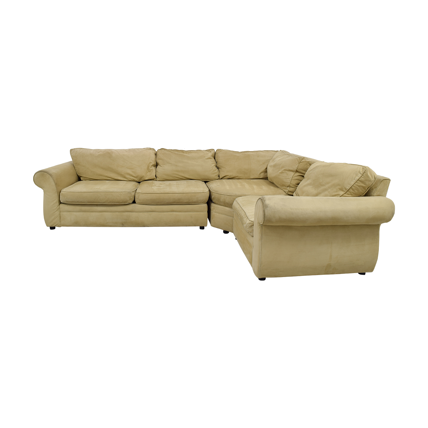 Pottery Barn Pottery Barn Beige L-Shaped Sectional coupon