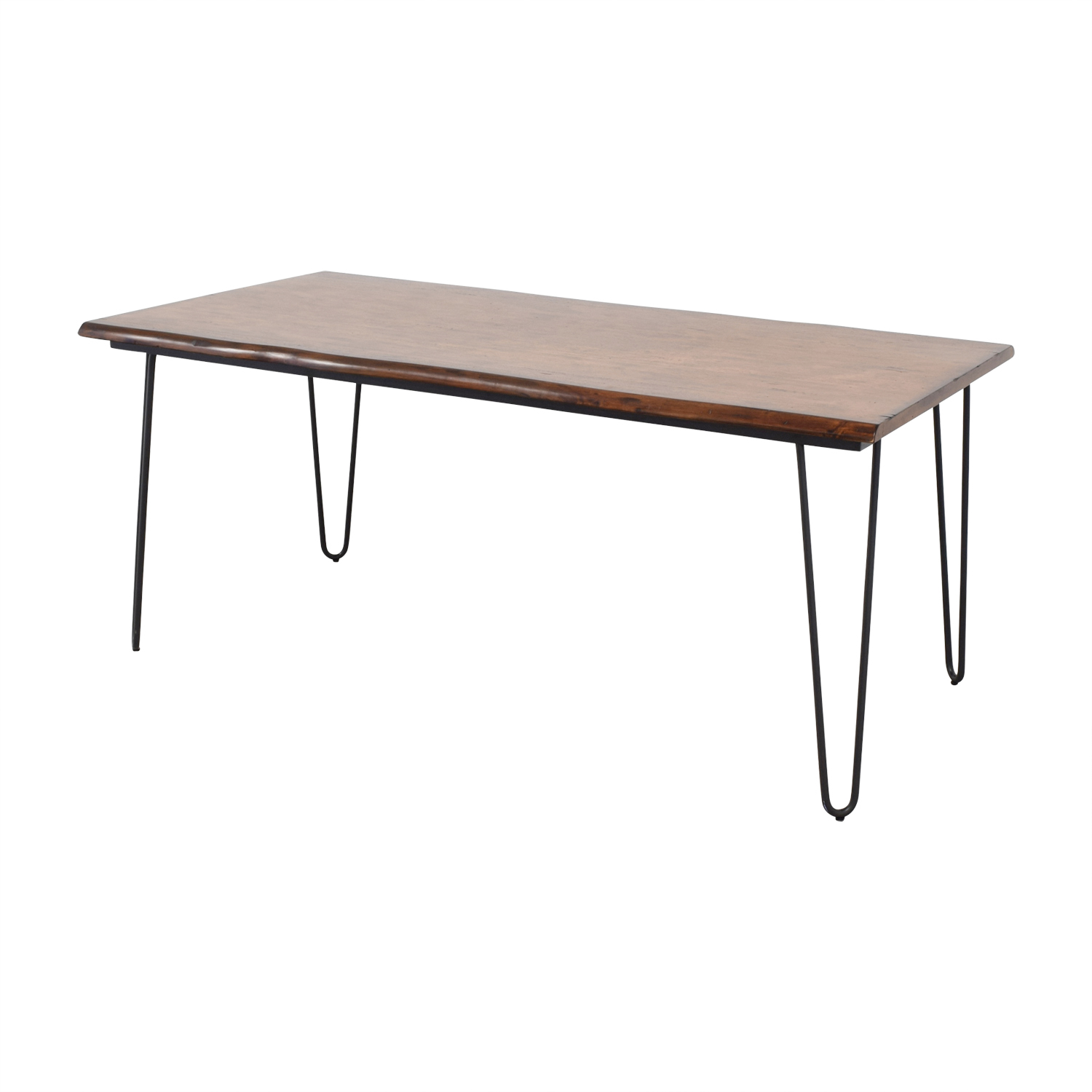 Coffee Table Coffee Table World Market Round Hairpin: World Market World Market Wood Flynn Hairpin