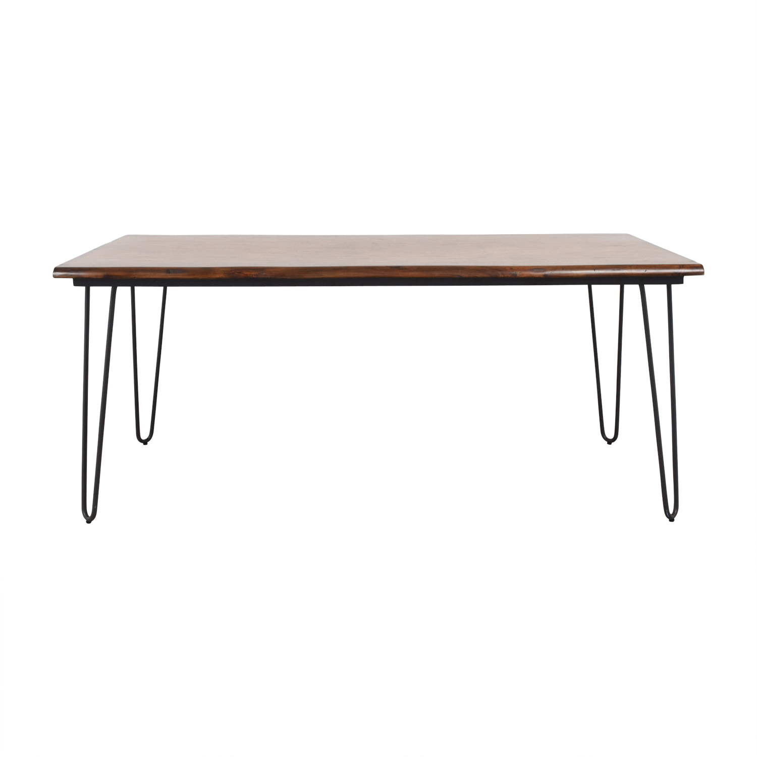 World Market World Market Wood Flynn Hairpin Dining Table price